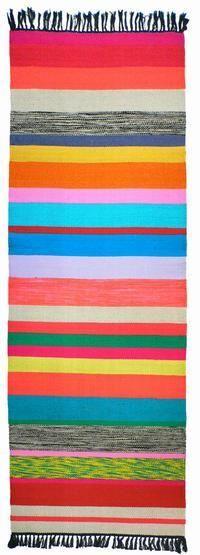 Striped rug!