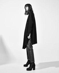 Image 3 of OVERSIZED SHIRT DRESS from Zara