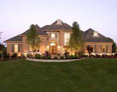 Plan W39201ST: Luxury European House Plan