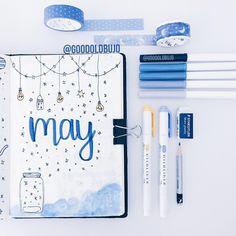 may cover ✨☁️ . . . . . . . . . . . . . . #bulletjournaling #showmeyourplanner #organised #perfectionist #goodoldbujo #bulletjournallove…