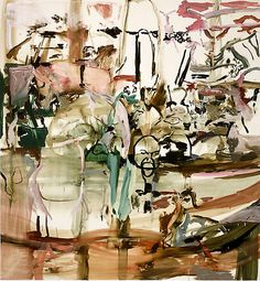 Cecily Brown. I don't always like this style but I find some of her paintings intriguing.