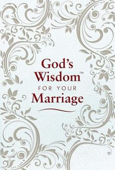 """[""""Marriage is a beautiful blessing when husband and wife remain under God's umbrella of wisdom and guidance. He holds answers to every challenge, healing for every hurt, provision for every need, and is the source for every joy. God's Wisdom for Your Marriage<\/i> emphasizes togetherness - not just with each other, but with Him - in all aspects of your relationship. Topics such as God's Plan, God's Guidance, God's Provision and more highlight the importance of caring and sharing toge…"""