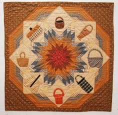 Baskets and quiltswhat could be better?!