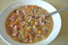 Make and share this White Bean Soup recipe from Food.com.