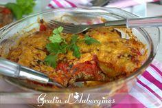 recette de gratin d'aubergines - Amour de cuisine