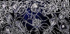 Title:  Ghost Party  Artist:  Evgeniy Eugene Yermolenko  Medium:  Painting - Acrylic On Canvas Textured Abstract