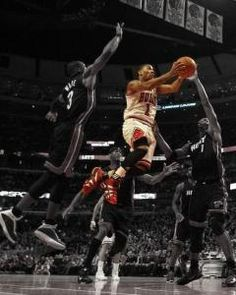 Derick Rose and Miami. He's awesome as long as he's not injured.