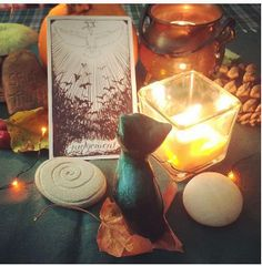 """Real life tarot images from Diane (craftedcb) instagram """"Judgement"""""""