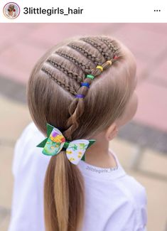 5 Easy Braids Hairstyles for Little Girls: Best Black Braids Hairstyles For Kids – Up Hairstyles Young Girls Hairstyles, Baby Girl Hairstyles, Kids Braided Hairstyles, Fancy Hairstyles, Female Hairstyles, Cute Hairstyles For Kids, Hairstyle Ideas, Braids For Kids, Girls Braids
