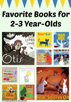 Need a book for your 2-3 year old? Select a favorite from these titles, perfect for that child in your life!