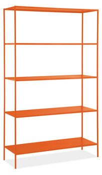 Slim Shelves different colors @Room and Board $500