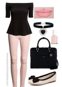 Rosa y negro, hermosa combinación de colores!!!!!