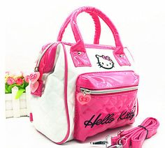 New-Cute-Women-Hellokitty-Girl-Backpack-Bag-Messenger-Bag-Handbag-Purse-AA-8752 $18.69 on Ebay