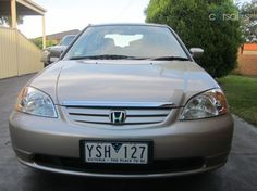 2001 Honda Civic Sedan $9,900 plus on-road, 102km, private seller, well presented.