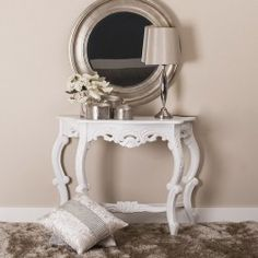 Entrance Hall Tables, Entryway Tables, Mirror Set, Luxury Furniture, Interior Decorating, Shabby Chic, New Homes, Console, Home Decor