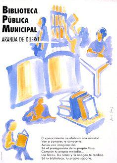 Biblioteca Pública Municipal de Aranda de Duero / Luis Sanz [199-?]