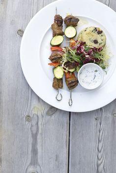 Lamb brochettes #eatsleepbeach