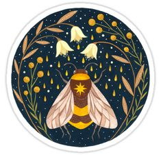 Bee stickers featuring millions of original designs created by independent artists. Tumblr Stickers, Cool Stickers, Printable Stickers, Laptop Stickers, Les Scouts, Journal Stickers, Aesthetic Stickers, Transparent Stickers, Sticker Design