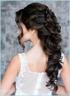 21 Classy and Elegant Wedding Hairstyles - MODwedding(Elegant Wedding Hair) Elegant Wedding Hair, Wedding Hair Down, Wedding Hair And Makeup, Bridal Hair, Perfect Wedding, Elegant Bride, Trendy Wedding, Wedding Bride, Wedding Dresses