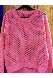 Sweater Calado Punto Abierto