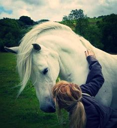 First Love... ♥ #Horse #Equine #Girl #Kiss