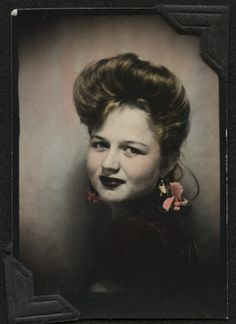 hand tinted photobooth...