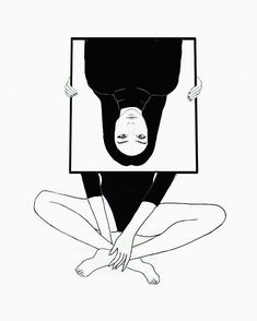 20+ Siyah Beyaz İllüstrasyon ile Yalnızlık ve Kadına Bakış: Danijela Simic Sanatlı Bi Blog 24
