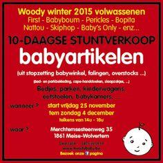 stuntverkoop Babyartikelen -- Wolvertem -- 25/11-04/12