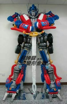 Transformer... I love this.... It would be great for my sons bday party