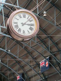 Sydney train station.
