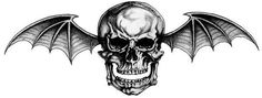 Avenged Sevenfold Deathbat Decal   DEATH BAT!!!!! my tattoo design Pictures, Images and Photos