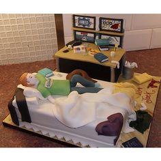 Mini Me Beds Cake