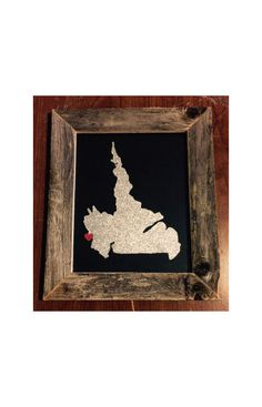 A personal favorite from my Etsy shop https://www.etsy.com/listing/235838492/labrador-hometown-pride-driftwood-frame