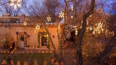 Again, New Mexico Christmas lights