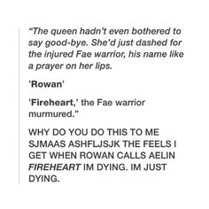 THIS IS WHEN SHE REALIZED THEY WERE MATES.. I'M FREAKEN DYING #EOS #ROWAELIN