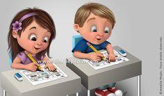Boutique virtuelle d'une illustratrice hors pair! Pictogrammes et matériel pédagogique superbement illustrés. Certains documents sont gratuits! Back To School Art, Art School, Amelie Pepin, Teacher Blogs, Genre, Coups, School Days, Disney Art, Minis