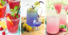 Here are 45 Summer Drinks - Nonalcoholic for those who want to keep things subtle and kid friendly.