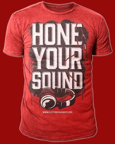 T-shirt design for Hone Your Sound by twicolabs