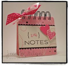 Simple Flourishes: Love Notes