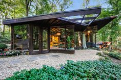 Live Out Frank Lloyd Wright's Usonian Vision in This Home That's Asking $725K - Dwell #frank #llyod #wright #windows