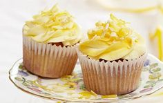 Lemon and white chocolate cupcakes recipe | GoodtoKnow