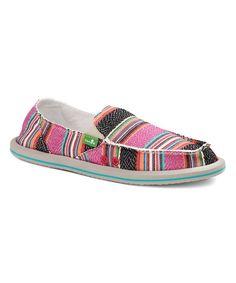 Sanuk Pink Poncho Donna Slip-on Shoe - Women | zulily