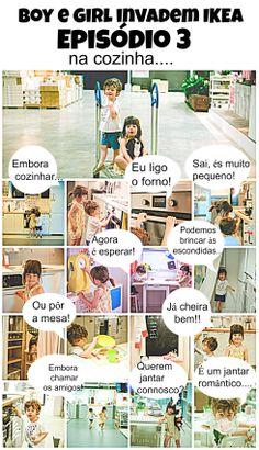 Boy e Girl invadem a IKEA...Na cozinha | Episódio 3