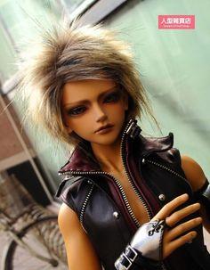BJD doll wig 8-9 inch 20-22cm 1/3 BJD DOLL SD Fur Wig Dollfie brown M10 #unbrand #DOLLWIG