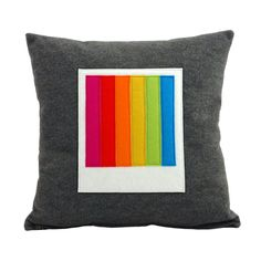 Polaroid Cushion Pillow - Instant Rainbow
