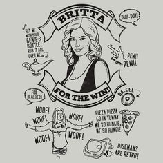 "Britta Perry | The 101 Best Pieces Of ""Community"" Fan Art"