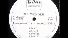9th Wonder - Unreleased Instrumentals Volume (1,2 & 3)