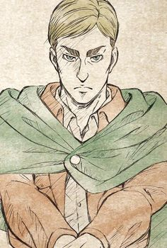 Erwin Smith - Hope of Mankind  Attack On Titan / SnK