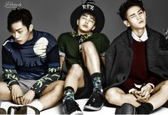 Doojoon, Kikwang and Yoseob