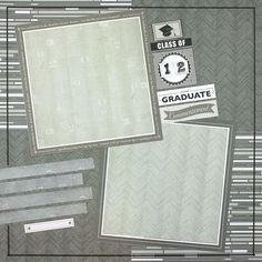 Achievements Stack Pack #Graduation Layout Idea from Creative Memories